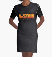 Dr. STONE - Anime / Manga Logo Graphic T-Shirt Dress