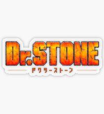 Dr. STONE - Anime / Manga Logo Transparent Sticker