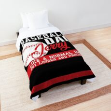 Jerry Dad baseball Comforter