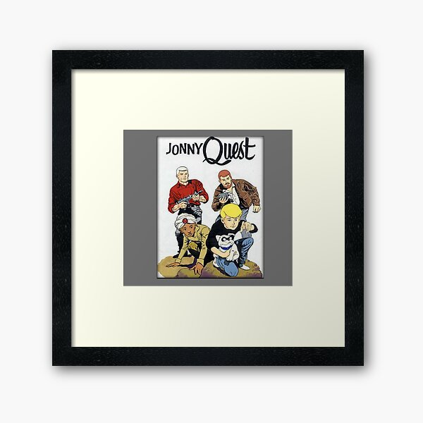 Jonny Quest 1964 Framed Art Print