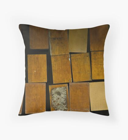 tables Throw Pillow