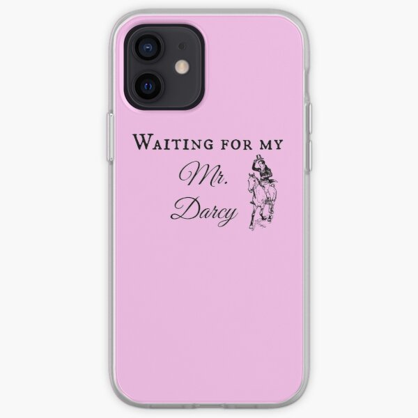 Jane Austen Pride & Prejudice Book Gift Mr. Darcy iPhone Soft Case
