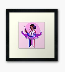 I was sorted into the Genderfluid House Framed Print