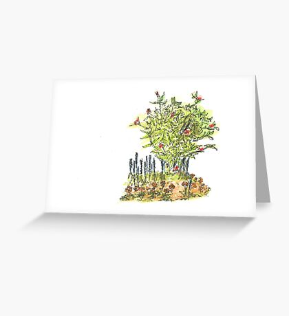entrance Greeting Card