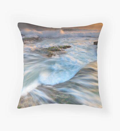 No Line On The Horizon Throw Pillow