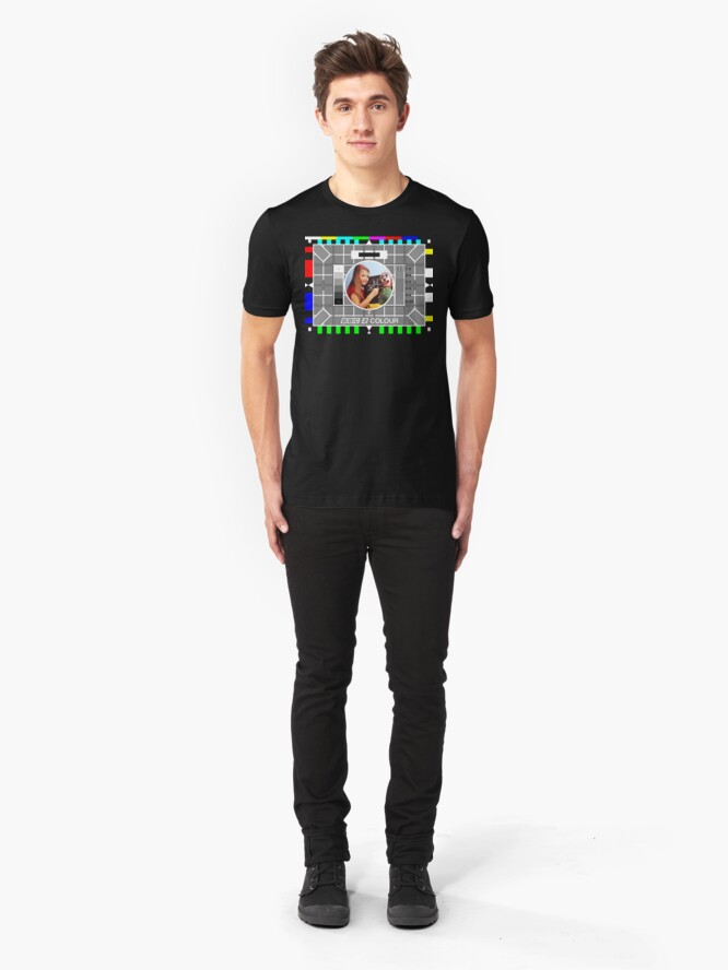 Alternate view of NDVH Testcard F Slim Fit T-Shirt
