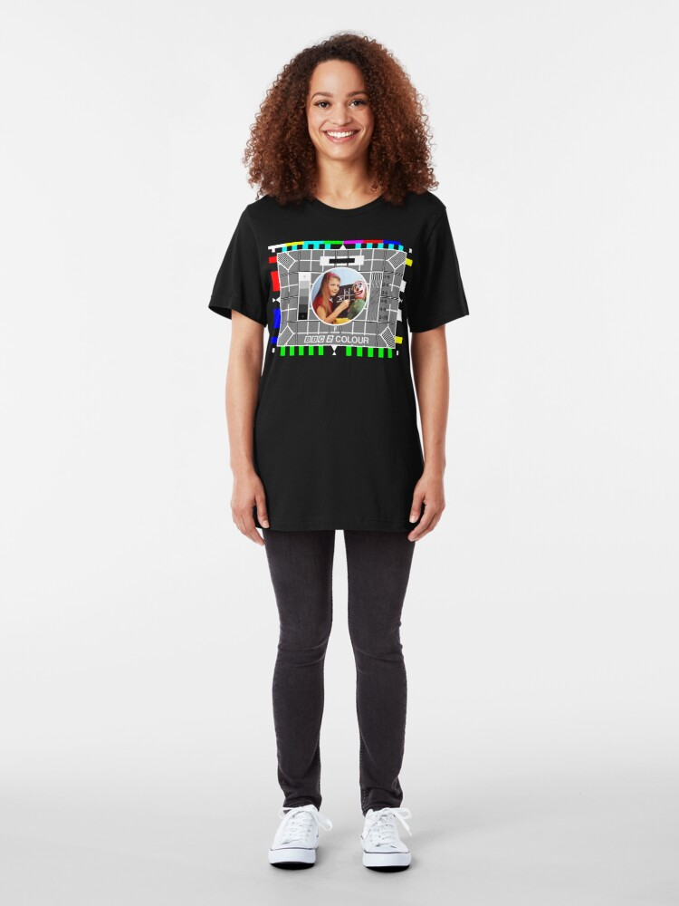 Alternate view of NDVH Testcard F Slim Fit T-Shirt