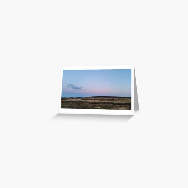 Moon Moor Greeting Card
