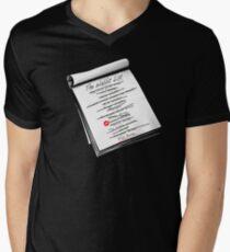 """Elmer Fudd's """"Wabbit"""" List T-Shirt T-Shirt"""
