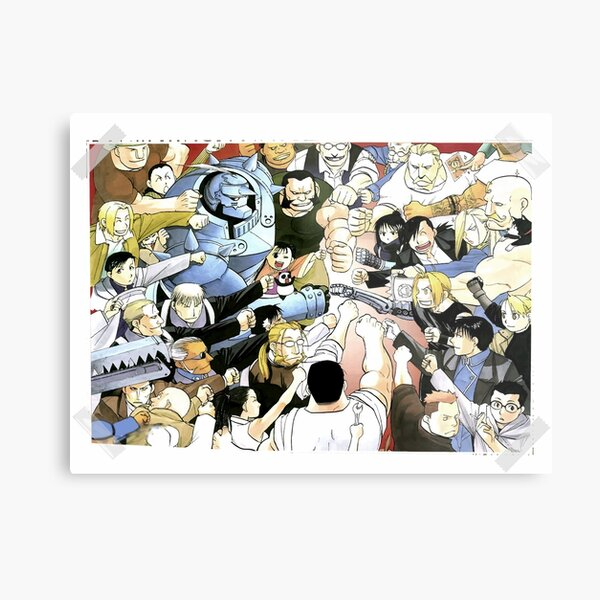 The Elric Fistbump Metal Print
