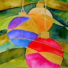 Christmas Baubles by Ruth S Harris