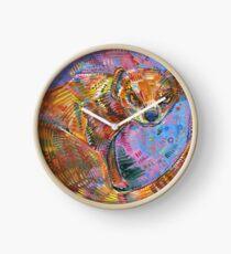Superhero painting - 2015 Clock