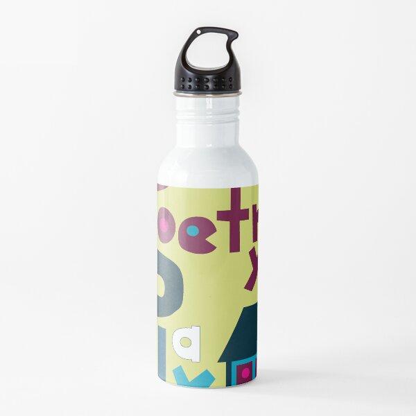 Jules Poetry Playhouse logo  Water Bottle