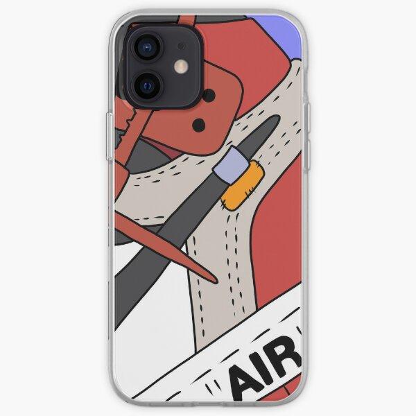 Aj1 blanc cassé Coque souple iPhone