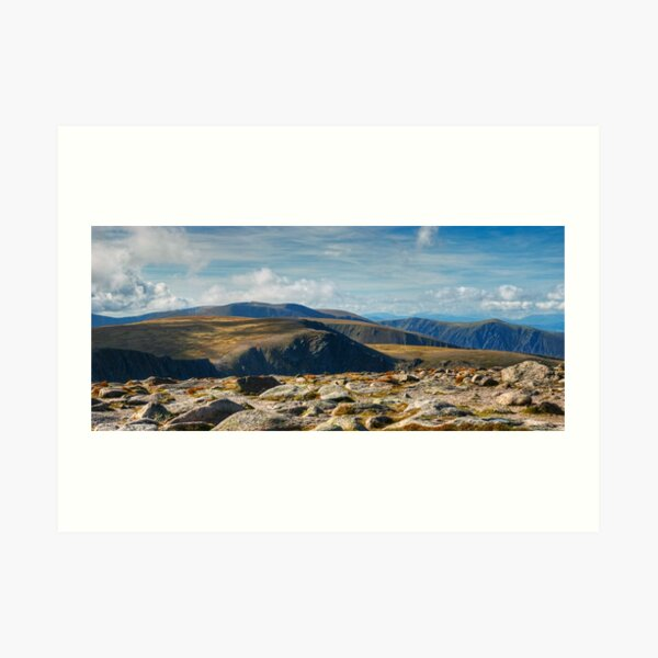 Cairngorm To Braeriach Art Print