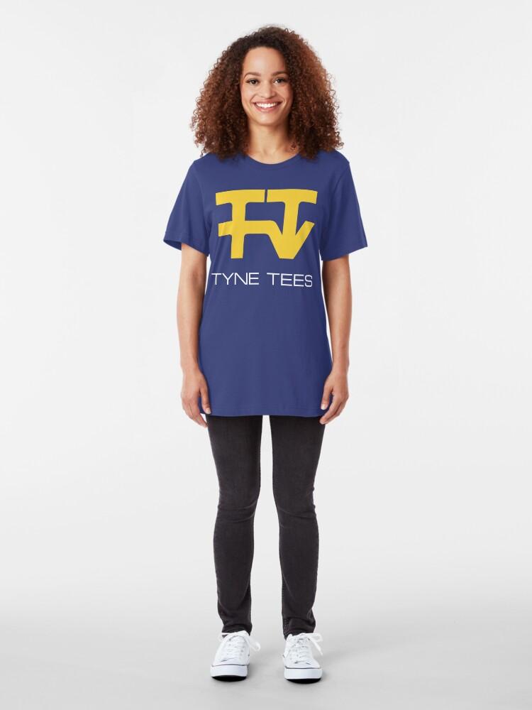 Alternate view of NDVH Tyne Tees Slim Fit T-Shirt