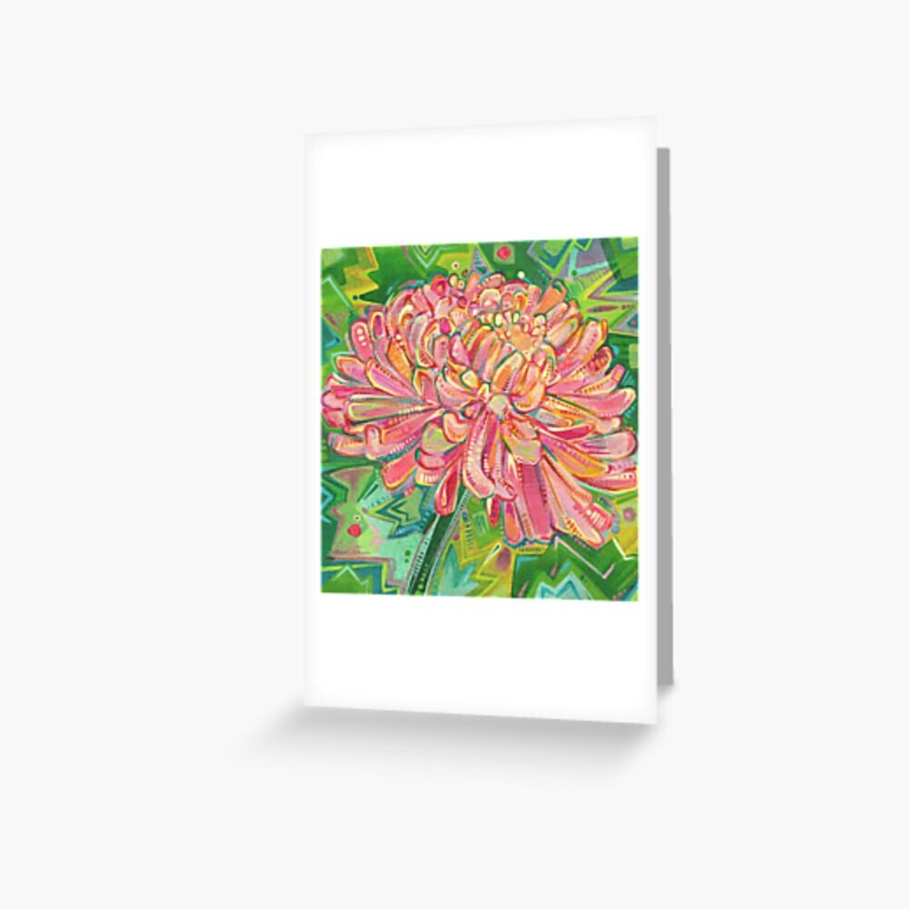 Mum Painting - 2015 Greeting Card