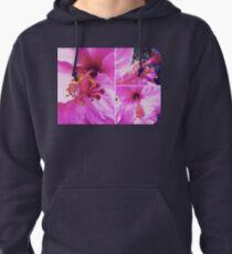 Pink Hibiscus  Pullover Hoodie