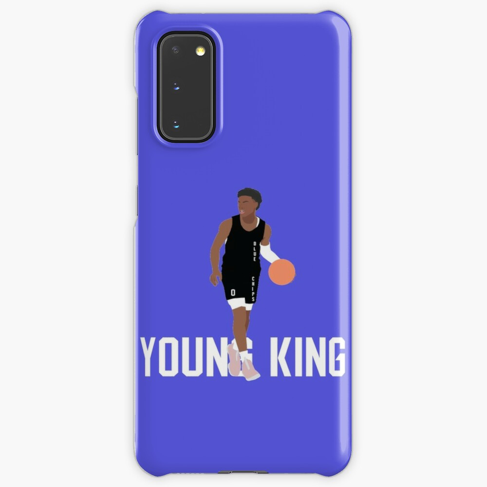 Bronny James Young King Case Skin For Samsung Galaxy By Carco Redbubble
