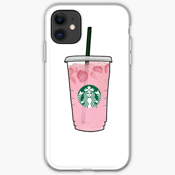 Pink Drink iPhone Soft Case