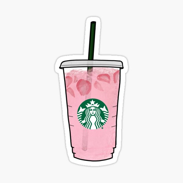 Pink Drink Sticker
