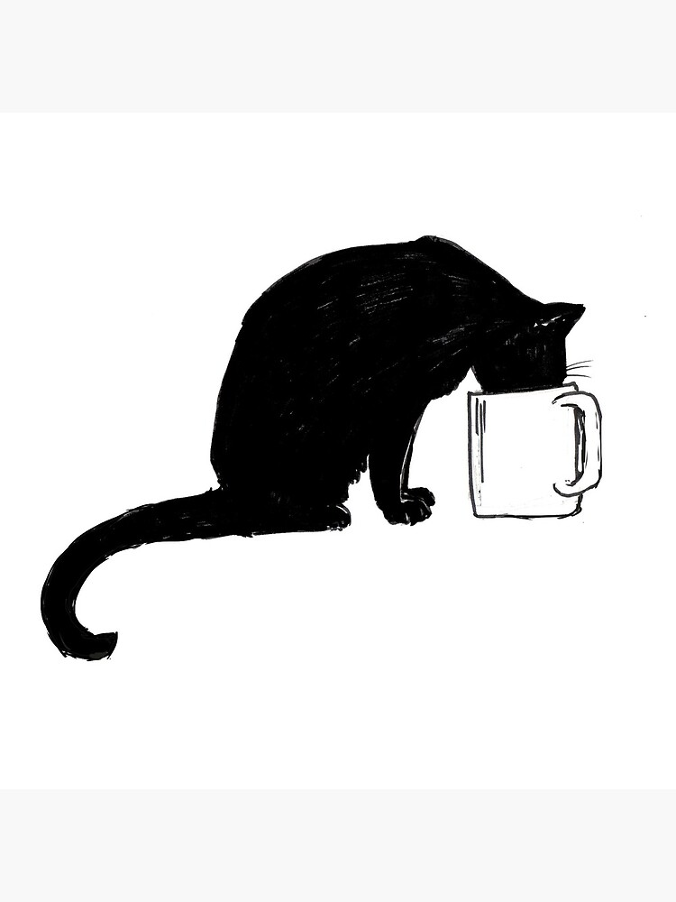 Cat in a Cup by bluebell42