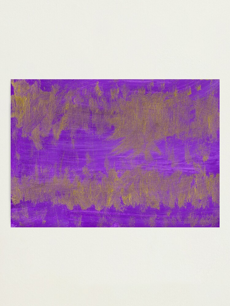 Alternate view of The Abstract Abstract Photographic Print