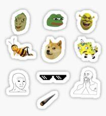 Dank Meme Sticker Pack #1 Sticker