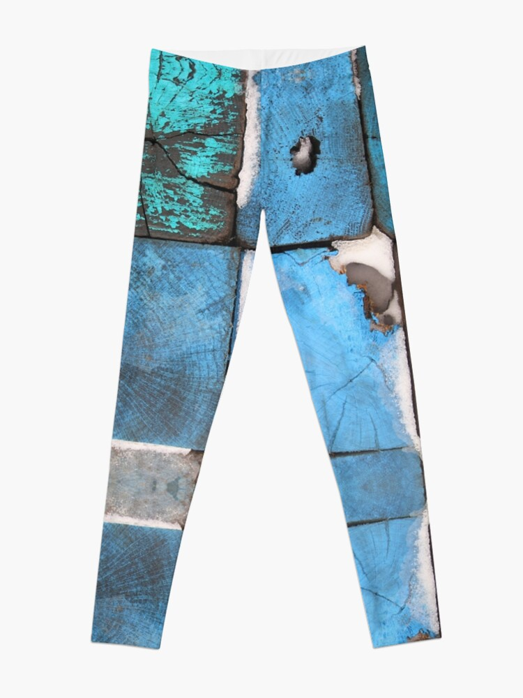 Alternate view of Blue four by four ends - 2016 Leggings