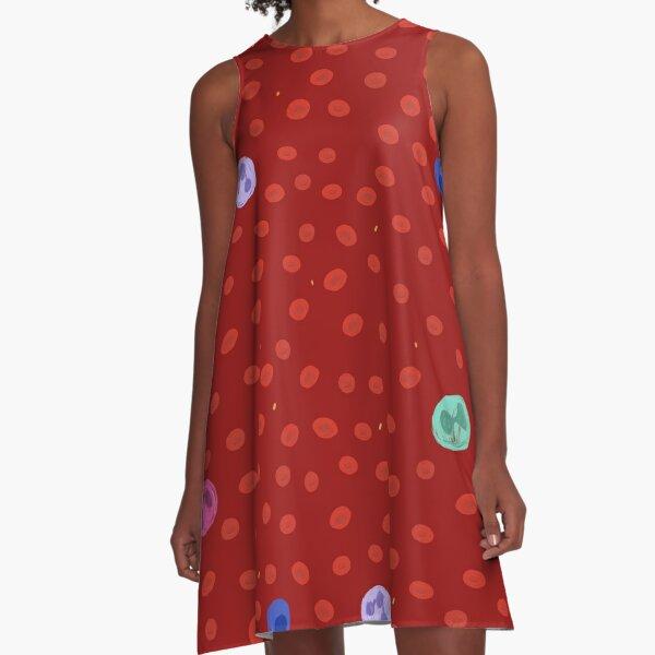 Blood Components A-Line Dress