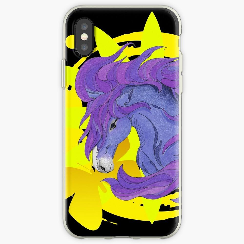 Wild Horse Purple iPhone Case & Cover