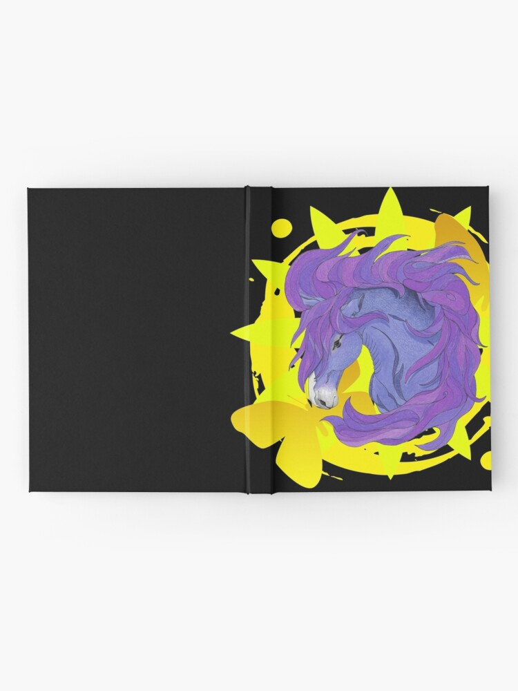 Alternate view of Wild Horse Purple Hardcover Journal