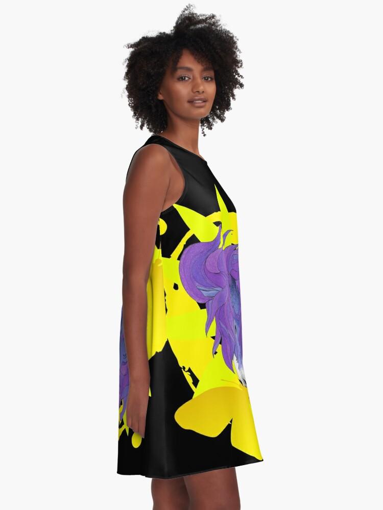 Alternate view of Wild Horse Purple A-Line Dress