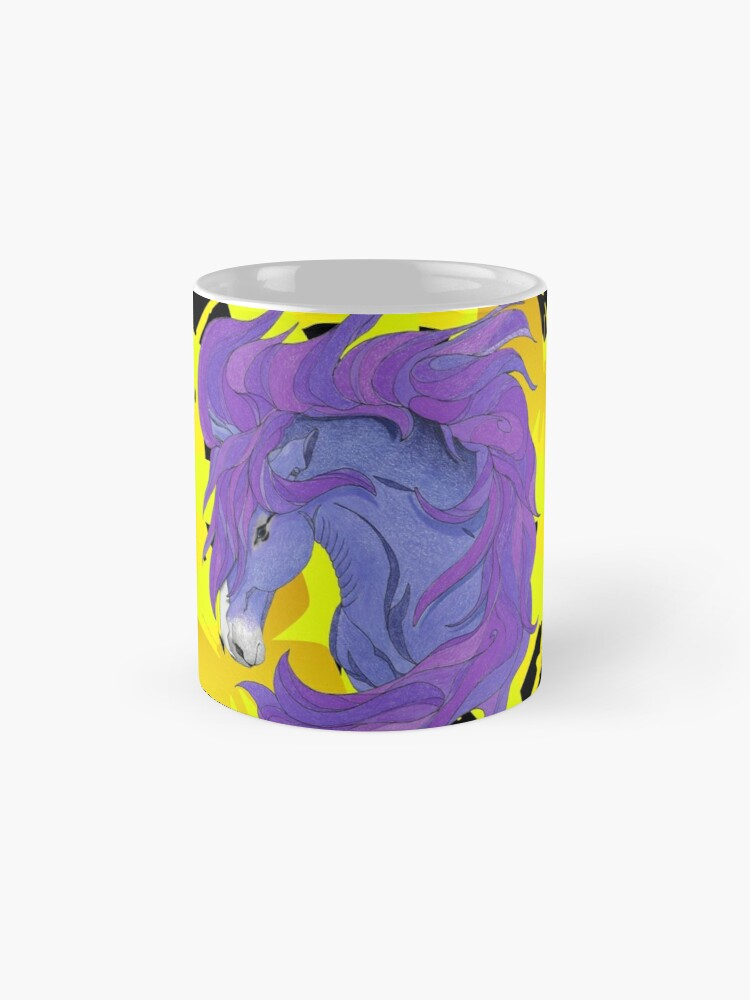 Alternate view of Wild Horse Purple Mug