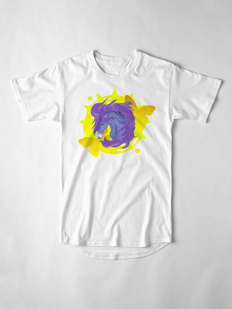 Alternate view of Wild Horse Purple Long T-Shirt