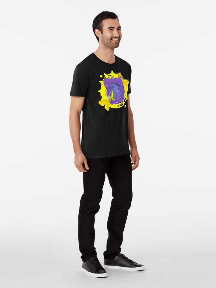 Alternate view of Wild Horse Purple Premium T-Shirt