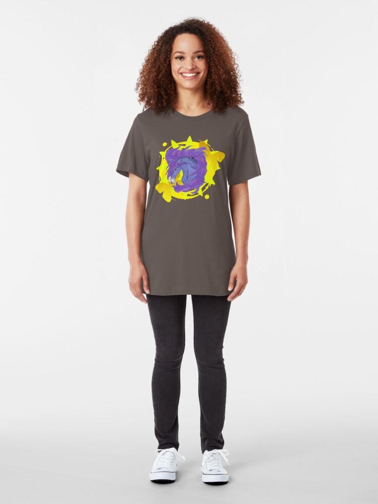 Alternate view of Wild Horse Purple Slim Fit T-Shirt