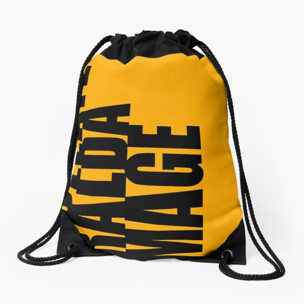 COLLATERAL DAMAGE sign-off Drawstring Bag