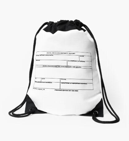 USAF Form 341 - Excellence/Discrepancy Report Drawstring Bag