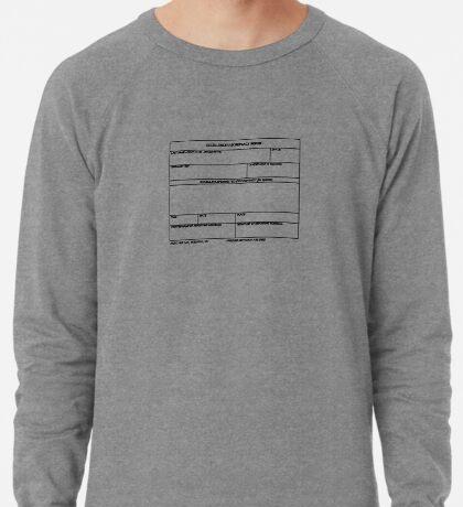 USAF Form 341 - Excellence/Discrepancy Report Lightweight Sweatshirt