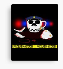 The Cop Canvas Print