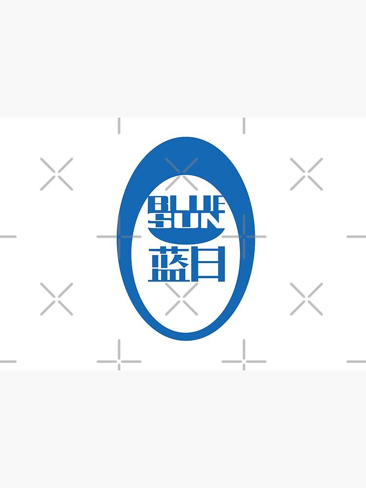 Firefly/Mass Effect Blue Sun Logo (blue)  by dmbarnham