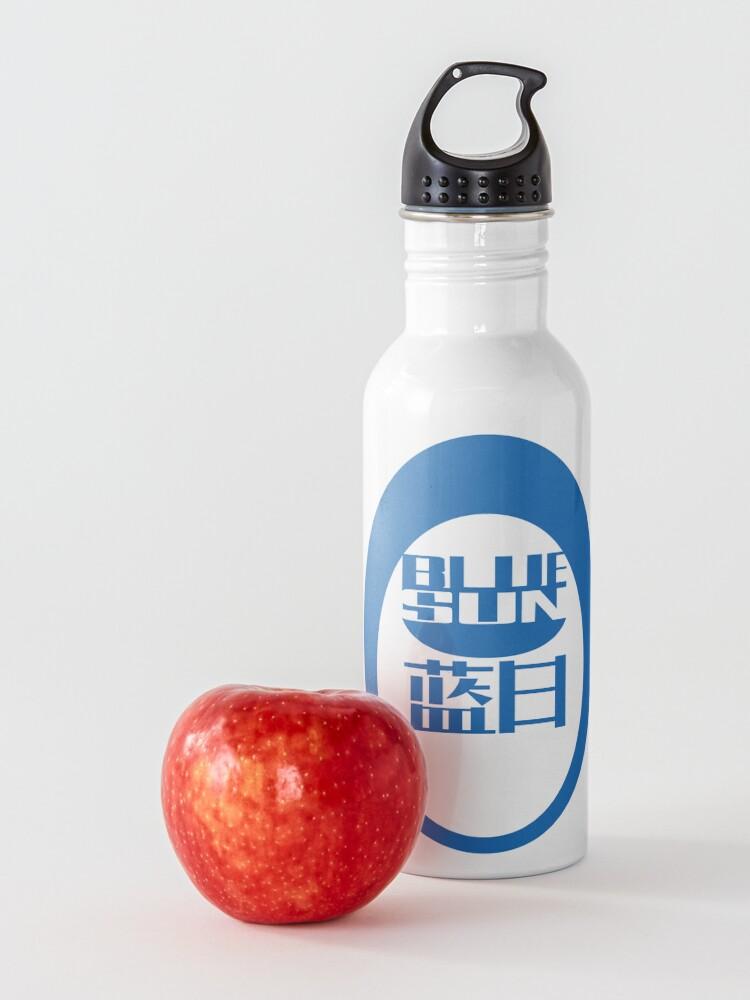 Alternate view of Firefly/Mass Effect Blue Sun Logo (blue)  Water Bottle