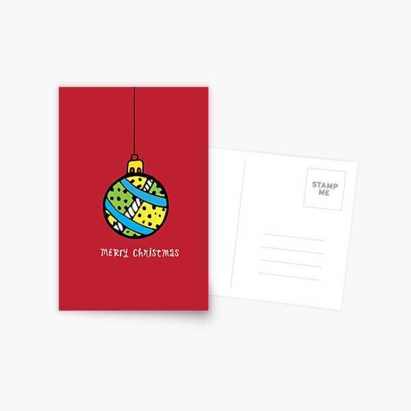 Christmas Card - 03 Postcard