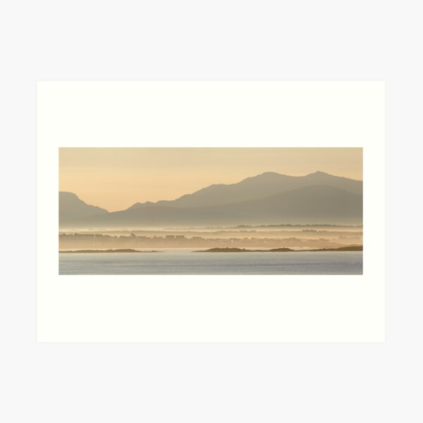 Rhosneigr, Anglesey, North Wales. Art Print