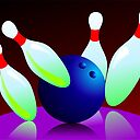 Digital Painting Of Ten Pin Bowling Art Print By Tillydesign Redbubble