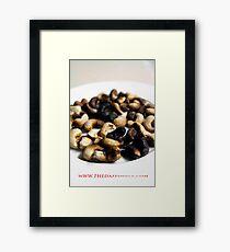 RAW cashewz Framed Print
