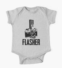 Flasher Camera One Piece - Short Sleeve