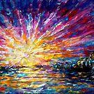 Verzaubertes Sonnenaufgangspanorama von OLena  Art ❣️