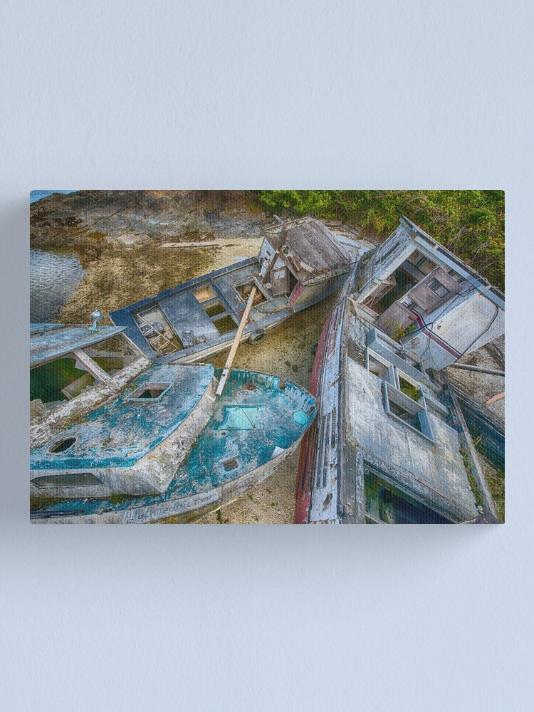 Alternate view of Parked Canvas Print